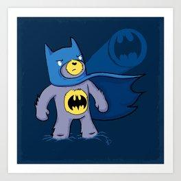 Batbear Art Print