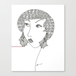 classy, sassy Canvas Print