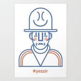 #yezzir Art Print