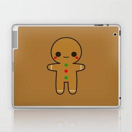 Cute gingerbread man Laptop & iPad Skin