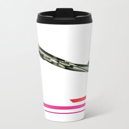 Take to the Air Metal Travel Mug
