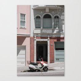 San Francisco in Pastels Canvas Print
