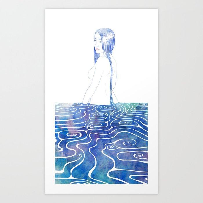 Water Nymph XCII Art Print