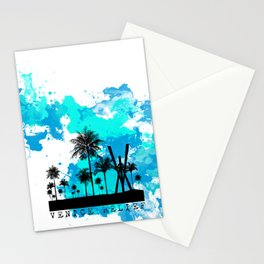 Venice Green Stationery Cards