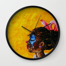 Not Funny Anymore Wall Clock