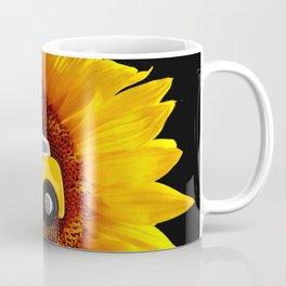Sunflower Taxi Coffee Mug