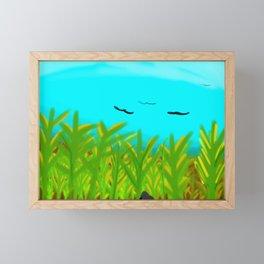 Ravens Framed Mini Art Print