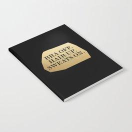 Bra Off Notebook