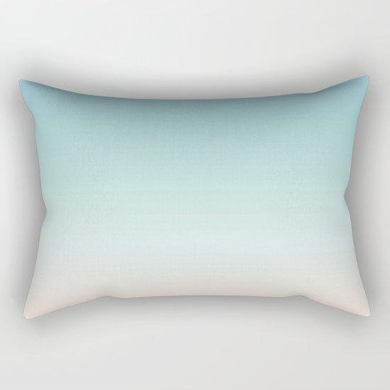 Beach Gradient Rectangular Pillow