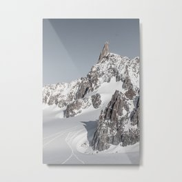 Mountain peaks - Mont Blanc serie 2 - Adventure landscape Metal Print