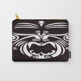Tribal Mask Carry-All Pouch