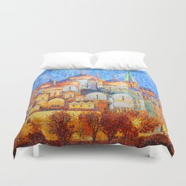 The Cathedrals of the Moscow Kremlin Duvet Cover