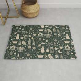 Winter Nights: Forest Rug