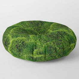 Moss - Green Luscious Mossy Texture - Full on Natural Moss Mounds- Earthy Greens -Turning Moss Green Floor Pillow