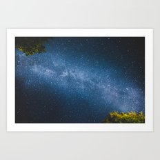 ocean of stars // Austria Art Print