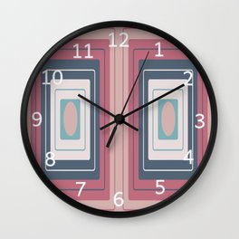 Rectangles Inside Rectangles Wall Clock