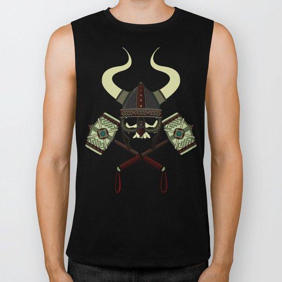 Viking skull Biker Tank