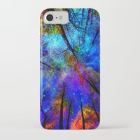 bedding iPhone & iPod Cases featuring Colorful forest by haroulita
