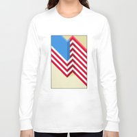 flag Long Sleeve T-shirts featuring Flag by Ryan Winters