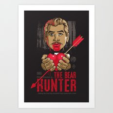 Ray: The Bear Hunter Art Print