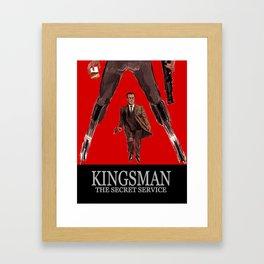 Kingsman: The Secret Service Framed Art Print