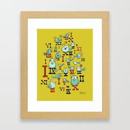 Chicky Time Framed Art Print
