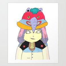 My Hat Art Print