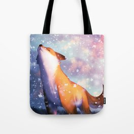 The First of Winter Tote Bag