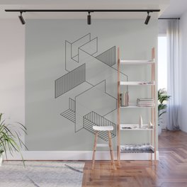 lines 1 Wall Mural