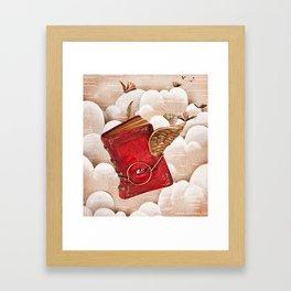 Book Heaven Framed Art Print