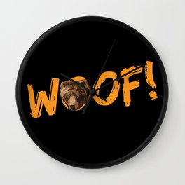 Woof! Wall Clock