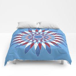 Distressed Kaleidoscope Comforters