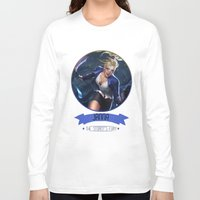 league of legends Long Sleeve T-shirts featuring League Of Legends - Janna by TheDrawingDuo