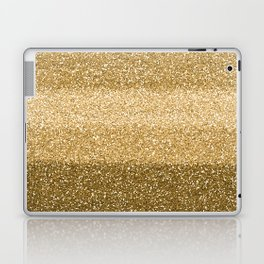 Glitter Glittery Copper Bronze Gold Laptop & iPad Skin