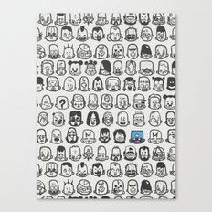 Personality Canvas Print