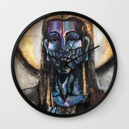 He stands at the door and knocks. Wall Clock