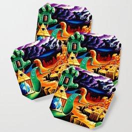 The Practical Deception by Vincent Monaco Coaster