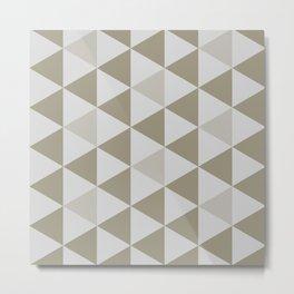 Great Triangle Pattern Metal Print