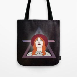 What kind of girl sings like this? Tote Bag