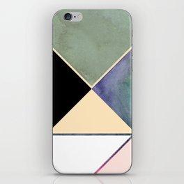 Tangram Square Three iPhone Skin