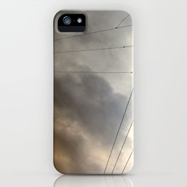 Wiry Sky iPhone Case