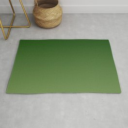 Forest and Greenery Gradient Rug
