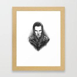 I Am Better Framed Art Print