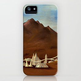 The Future is Now iPhone Case
