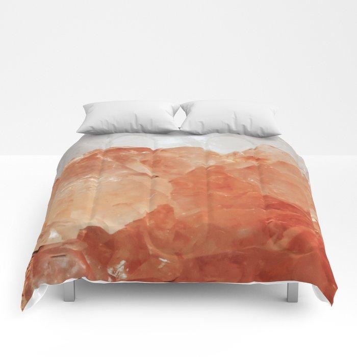 BLOOD ORANGE QUARTZ Comforters