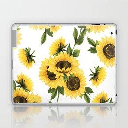 Lovely Sunflower Laptop & iPad Skin