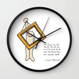 Vaya Cuadro Wall Clock