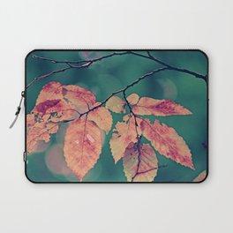 Yesterday autumn leaves in botanic garden Laptop Sleeve