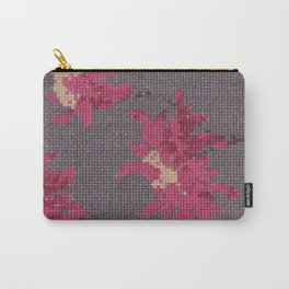 *Cross Stitch* Carry-All Pouch