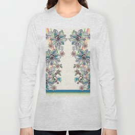Wire Floral Long Sleeve T-shirt